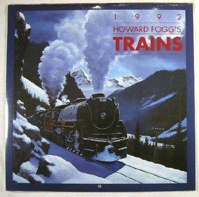 Howard Fogg's Trains 1992 - Calendar, Fogg, Howard