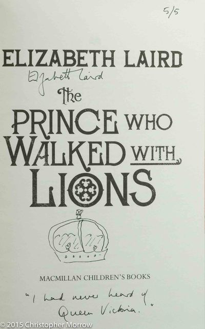 Image for The Prince Who Walked With Lions