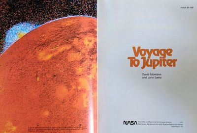 Image for Voyage to Jupiter. NASA SP-439.
