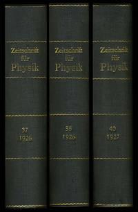 """""""Zur Quantenmechanik der Stoßvorgänge"""" (""""Quantum Mechanics of Collision"""") in Zeitschrift für Physik 37 pp. 863-867, 1926).  """"Quantenmechanik der Stoßvorgänge"""" in Zeitschrift für Physik 38 pp. 803-827, 1926."""