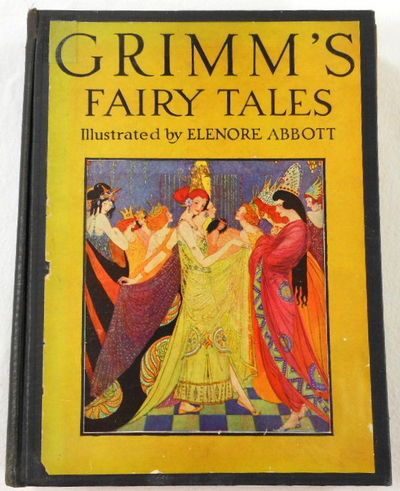 Grimm's Fairy Tales.  Scribner's Illustrated Classics Series, Brothers Grimm. Selected and Illustrated By Elenore Abbott.