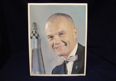 Image for Signed Photograph of John H. Glenn Jr.