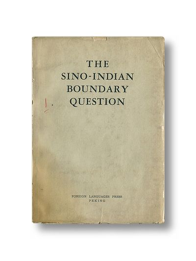 The Sino-Indian Boundary Question