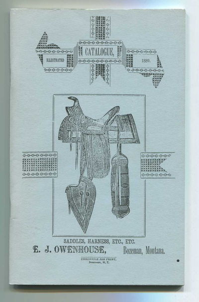 Saddles, Harness, Etc., Etc.: Illustrated Catalogue, 1889, Owenhouse, E.J. and