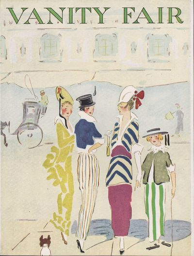 Image for Vanity Fair Magazine, June, 1914 - Cover Only