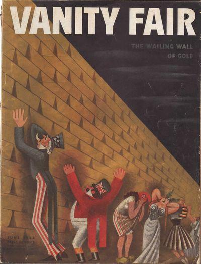 Image for Vanity Fair Magazine, June, 1933