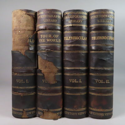 Image for Keystone View Company Stereography Library, Tour of the World Vol I. & II. + Stereoscope