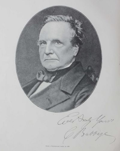 charles babbage essay Charles babbage kh frs (/ from an essay on the general principles which regulate the application of machinery to manufactures and the mechanical arts.