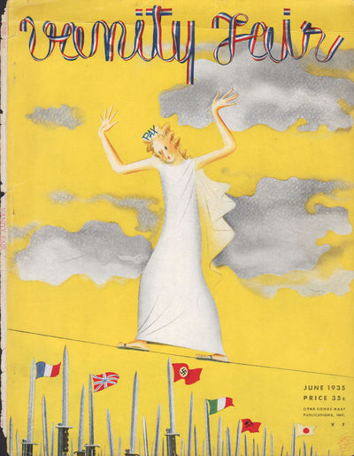 Image for Vanity Fair Magazine, June, 1935 - Cover Only