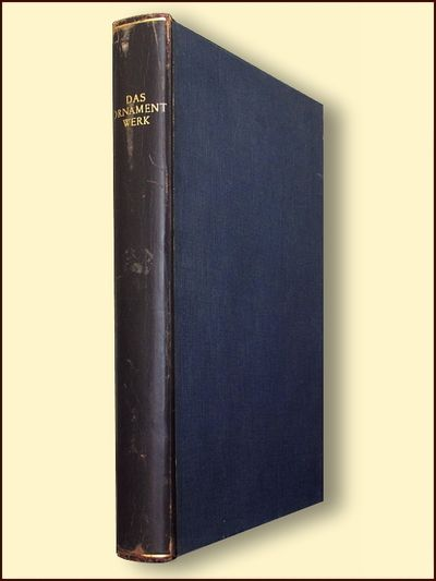 Das Ornamentwerk, Bossert, H. Th.