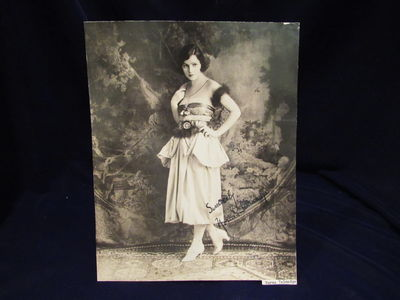 Image for Autographed photograph of Norma Talmadge