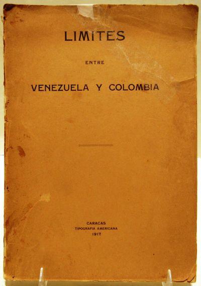 Image for Limites entre Venezuela y Colombia (Límites entre Venezuela y Colombia)