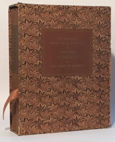 The Original Water Color Paintings by John James Audubon for The Birds of America [2 volumes in slipcase), Audubon, John James