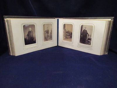 Image for Oxford University- Oriel College Carte-de-Visite Photo Album circa 1866
