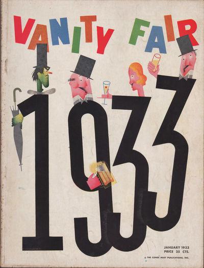 Image for Vanity Fair Magazine, January, 1933