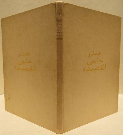 Image for The Kasidah of Haji Abdu El-Yezdi