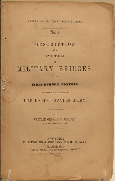 Image for Description of a System of Military Bridges, with India-Rubber Pontons.