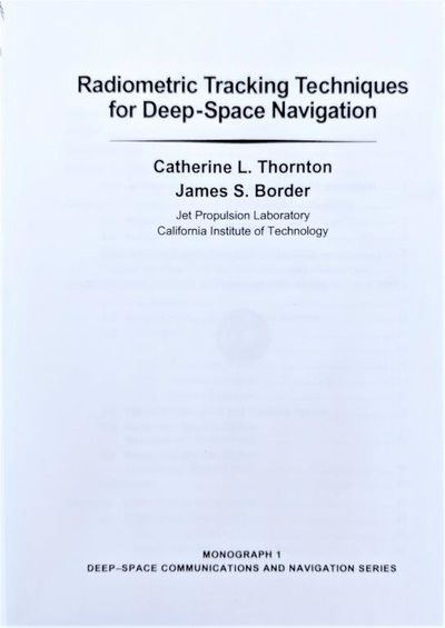 Image for Radiometric Tracking Techniques for Deep-Space Navigation.