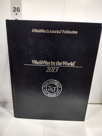 Image for Who's Who In the World 2013