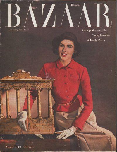 Image for Harper's Bazaar, August, 1949