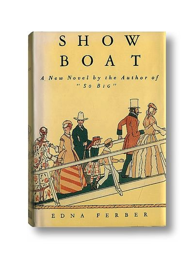 Showboat (facsimile edition), Ferber, Edna
