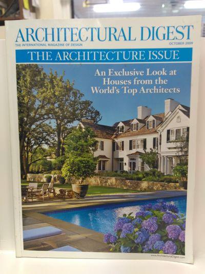 Image for Architectural Digest {Volume 66, Number 10, October 2009}
