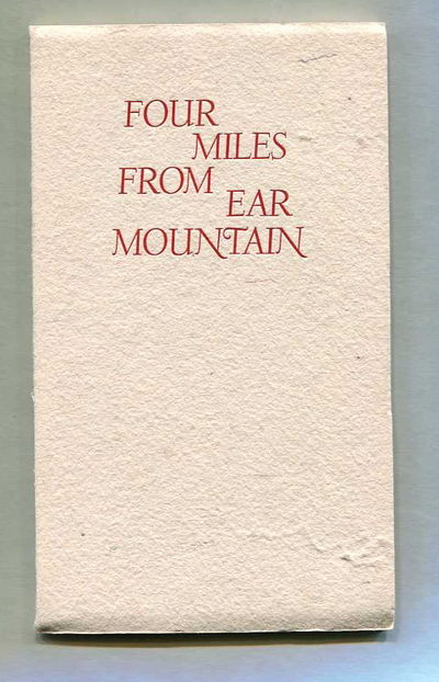 Four Miles from Ear Mountain, Guthrie, A.B. Jr.