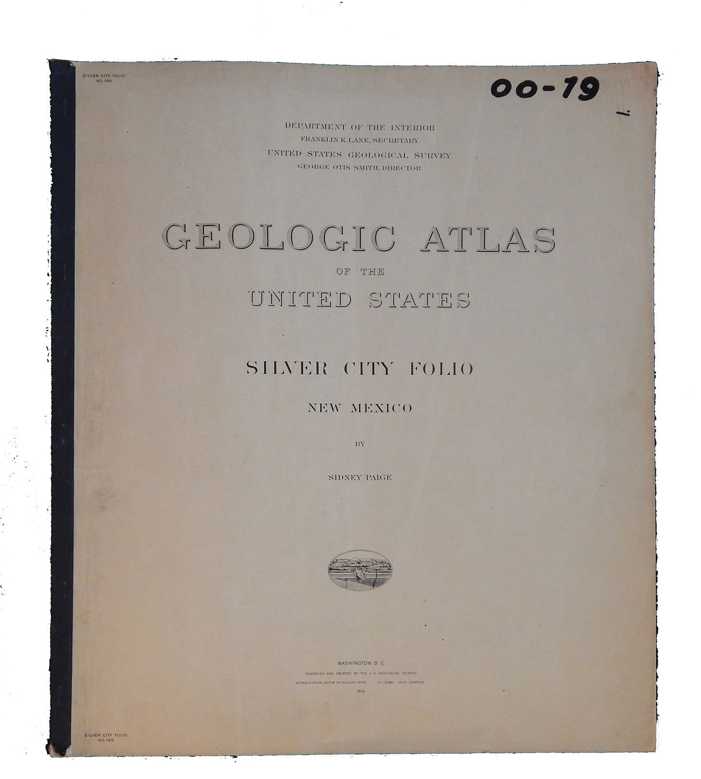 Image for Geologic Atlas of the United States Silver City Folio, New Mexico