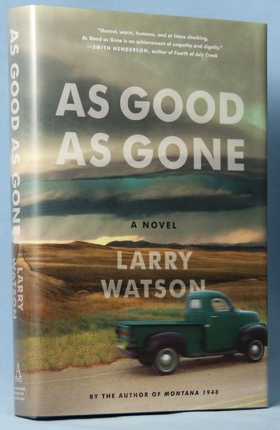 As Good as Gone (Signed), Watson, Larry
