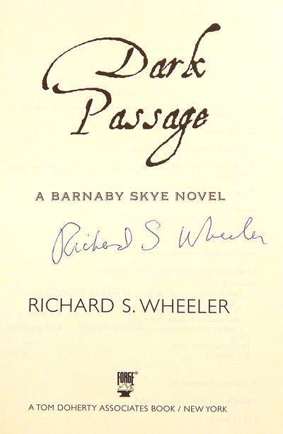 Dark Passage, Wheeler, Richard S.