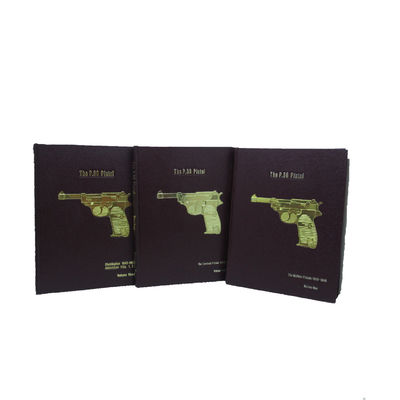 Image for The P.28 Pistol. Three volume set. Vol. I: The Walther Pistols 1930-1945;  Vol. II: The Contract Pistols 1940-1945; Vol. III: Distribution 1945-1990,  Addendum Vols. I & II.