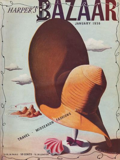 Harper's Bazaar 1938 January (Magazine)