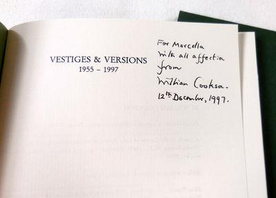 Image for Vestiges & Versions 1955-1997
