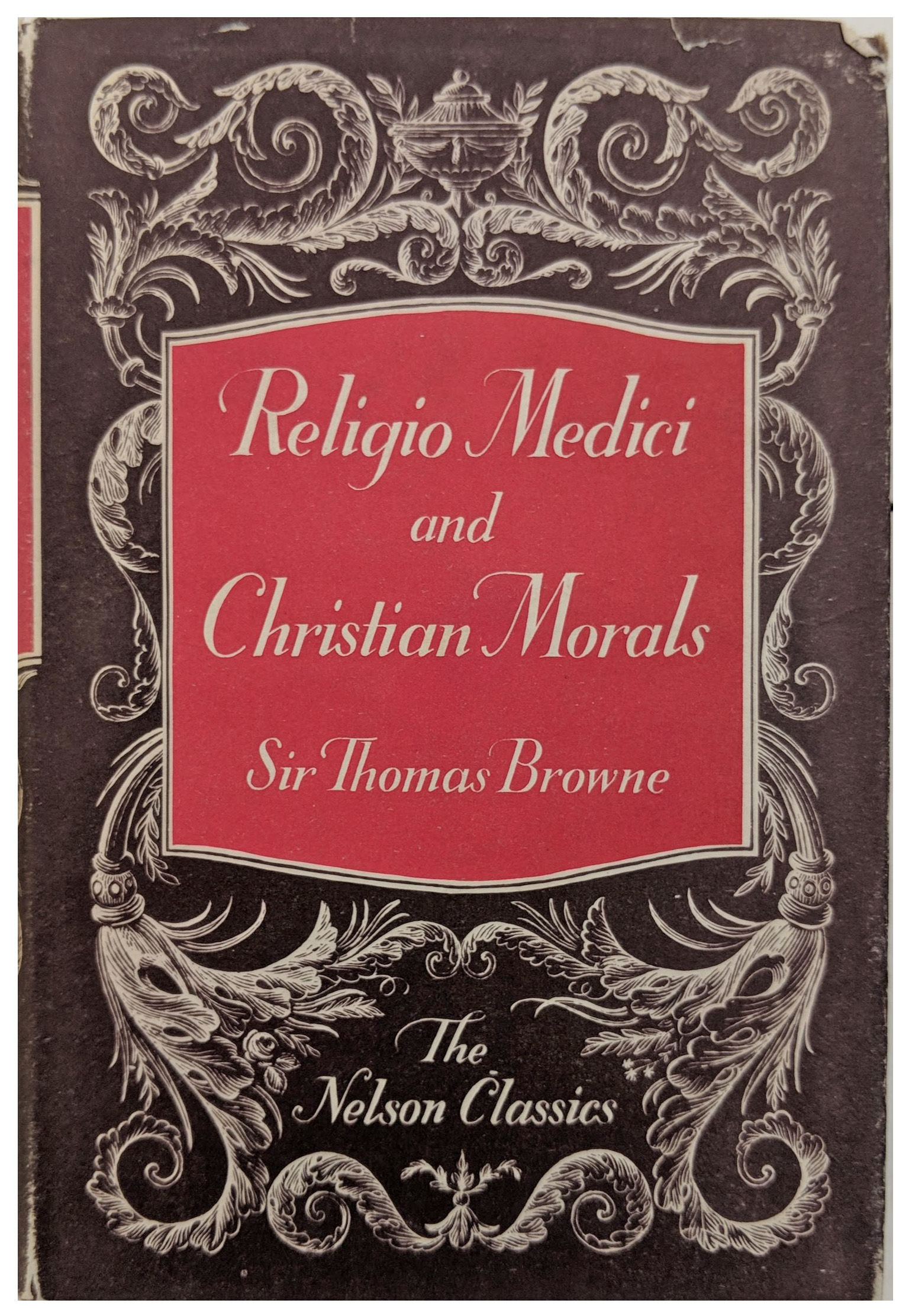 Image for Religio Medici and Christian Morals.