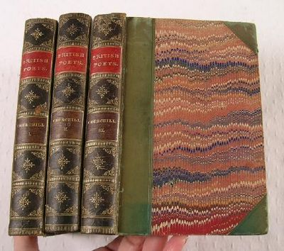 The Poetical Works of Charles Churchill, With Copious Notes and a Life of the Author By W. Tooke, F.R.S.  Three Volumes.  British Poets, Churchill, Charles (1731-1764)