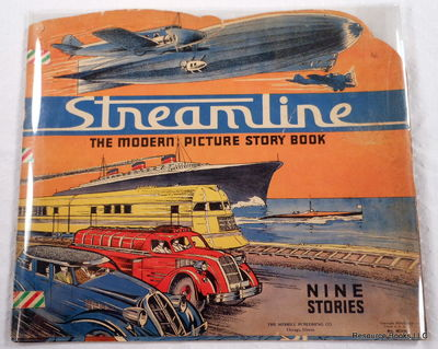 Streamline: The Modern Picture Story Book.  Nine Stories, King, Kildare.  Illustrated By William Howard Montgomery.  Cover By Milo Winter