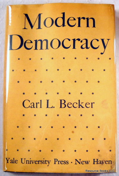 Modern Democracy, Becker, Carl. L.