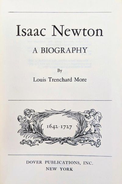 Image for Isaac Newton, a biography.