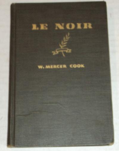 Image for LE NOIR: Morceaux Choisis de Vingt-Neuf Francais Celebres.