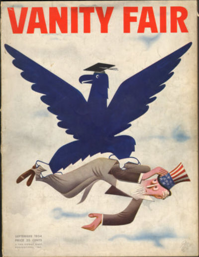 Image for Vanity Fair September 1934 Issue (Magazine)