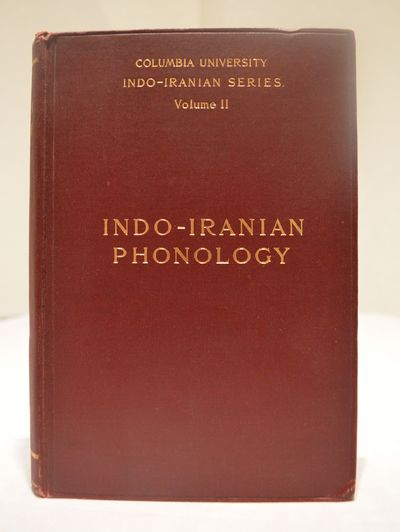 Image for Indo-Iranian Phonology with Special Reference to the Middle and New  Indo-Iranian Languages