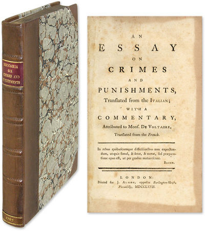 beccaria an essay on crimes and punishments