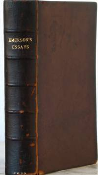 essays first series ralph waldo emerson publisher