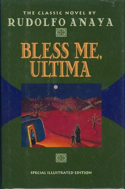 an analysis of rudolfo anayas book bless me ultima Bless me, ultima is a semi-autobiographical novel based on the new mexican community of rudolfo anaya's childhood anaya used his memory of his town, the pecos river, highway 66, the church, the school, and the surrounding villages and ranches as the inspiration for their depiction in his novel .