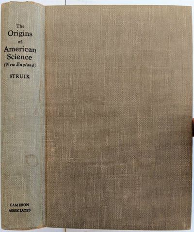 Image for The Origins of American Science (New England).