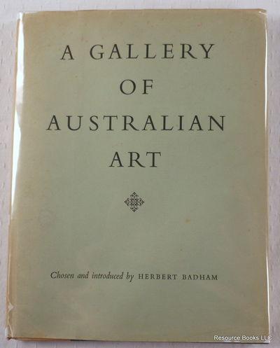A Gallery of Australian Art, Badham, Herbert