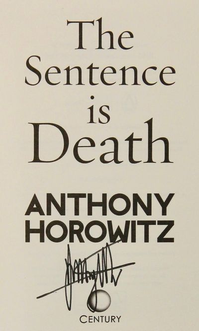 Image for The Sentence is Death (Signed)