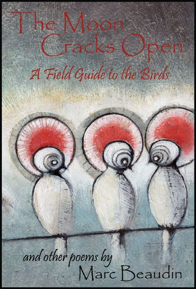 The Moon Cracks Open  A Field Guide to Birds and Other Poems, Beaudin, Marc