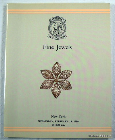 Christie's: Fine Jewels.  New York - February 13, 1980 - Sale OSLO, Christie's  [Auction Catalogue]