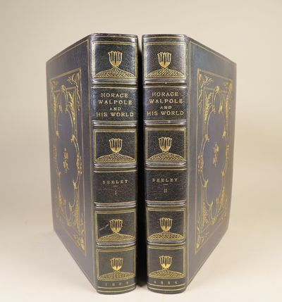 Image for Horace Walpole and His World Signed, extra illustrated, large paper copy  bound by Pfister.